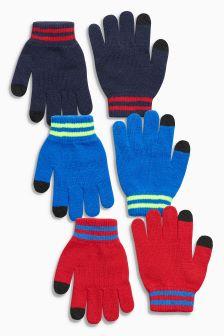 Gloves Three Pack (Older Boys)