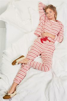 Stripe Jersey Pyjamas