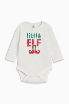 Little Elf Langärmliger Body (0 Monate bis 2 Jahre)