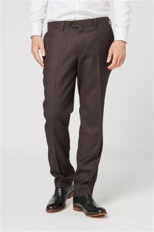 Signature Textured Suit: Trousers