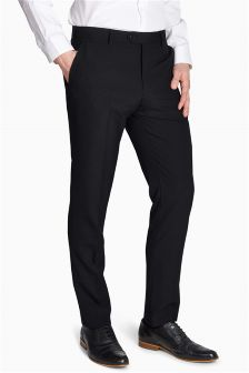 Wool Blend Suit: Trousers