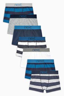 Stripe Trunks Seven Pack (2-16yrs)