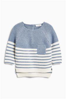 Stripe Knit Jumper (0mths-2yrs)