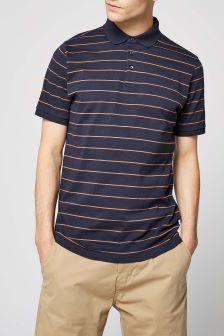 Fine Stripe Poloshirt