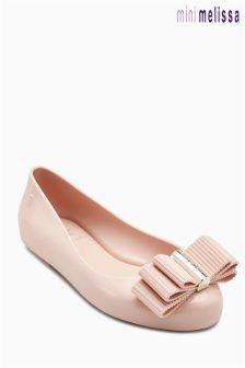 Бледно-розовые туфли Mini Melissa Space Love