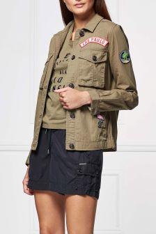Superdry Urban Khaki Rookie Patch Jacket