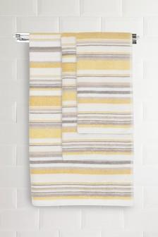 Marl Striped Towel