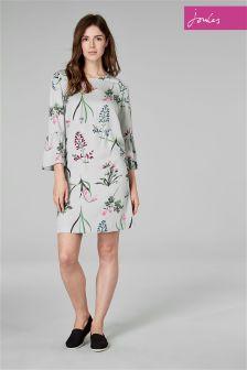 Joules Silver Gardenia Dress