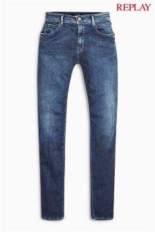 Replay® Dark Wash Kellygray Straight Leg Jean