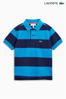 Lacoste® Blue/Navy Stripe Polo