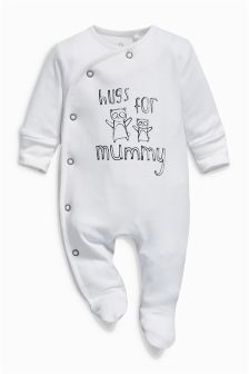 Mummy Sleepsuit (0-18mths)
