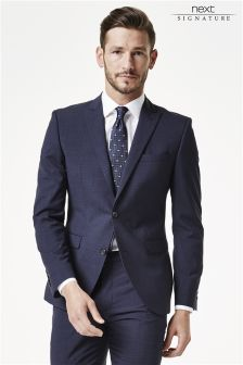 Signature Check Skinny Fit Suit