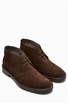 """Замшевые ботинки """"чакка"""""""