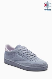Niebieskie buty Reebok Club C 85