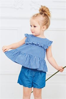 Peplum Blouse (3mths-6yrs)