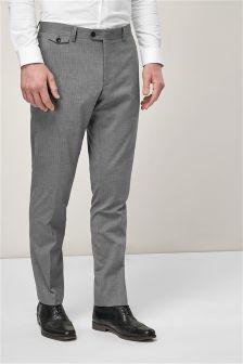 Striped Slim Fit Suit: Trousers