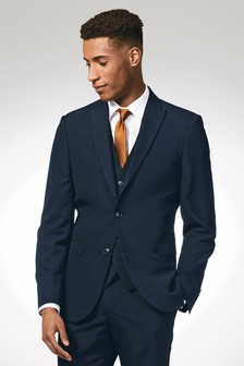 Slim Fit Shirt With Rust Tie And Tie Clip Set
