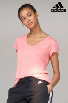 adidas Pink Winners Tee