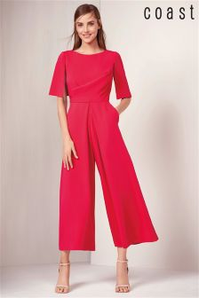 Coast Pink Wrap Jumpsuit