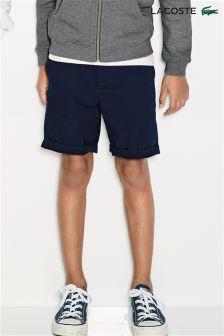 Lacoste® Navy Chino Shorts