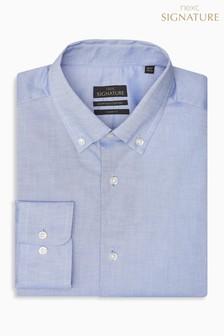 Фирменная рубашка с воротником на пуговицах