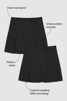 Pleated Skirt Two Pack (3-16yrs)