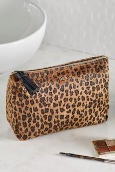 Animal Print Make Up Bag