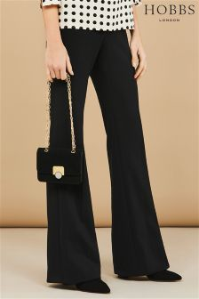 Hobbs Black Boot Cut Trouser