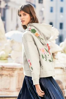 Oversized Embroidered Hoody