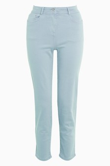 Soft Touch Straight Crop Jeans