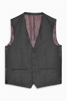 Коллекционный фактурный костюм: жилет