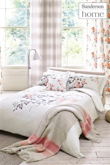 Sanderson Magnolia And Blossom Duvet Cover