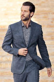 Льняной костюм: пиджак