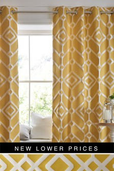 Lattice Geo Curtains