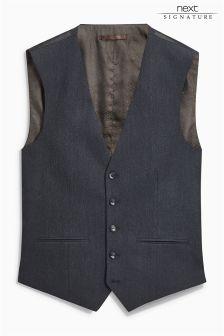 Именной костюм из британской шерсти: жилет