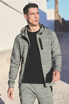 Fabric Interest Hoody