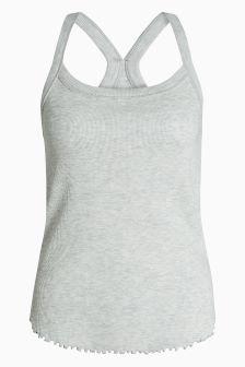 Soft Textured Cotton Rich Vest