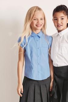 Блузка с пышными рукавами (3-16 лет)