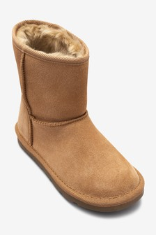 Shearling Pull On Boots (Older Girls)