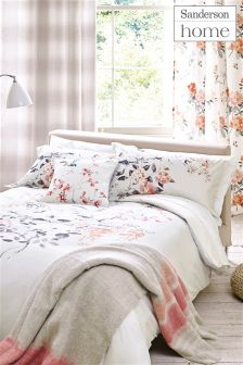 Sanderson Magnolia And Blossom Oxford Pillowcases