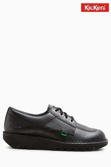 Kickers® Kick Black Lo Lace Shoe