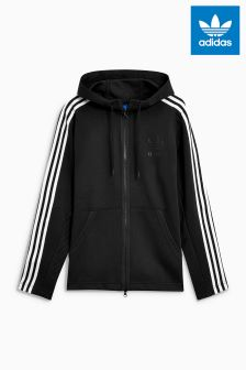 adidas Originals Black Curated Zip Through Hoody