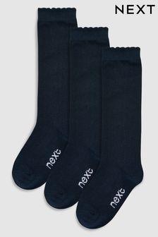 Knee High Socks Three Pack (Older Girls)
