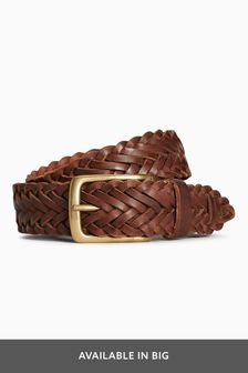 Weave Leather Belt