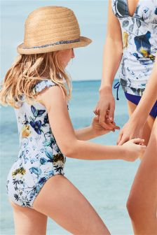 Frill Swimsuit (3-16yrs)