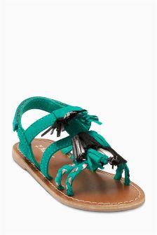 Sandałki z frędzlami (Starsze dziewczynki)