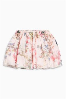 Floral Mesh Skirt (3mths-6yrs)