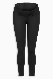 Maternity Zip Ponte Trousers