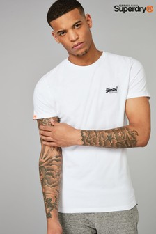 Superdry White Logo T-Shirt