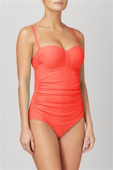 Shape Enhancing Bandeau Swimsuit